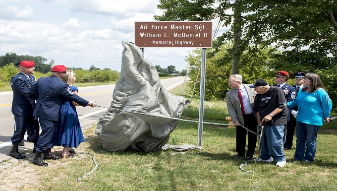 Ohio highway dedicated to SOF hero